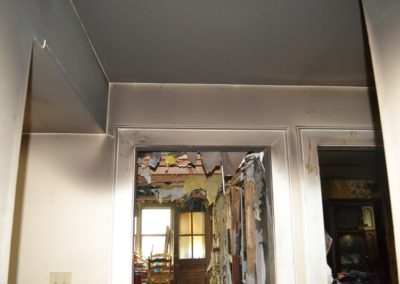 16 Soot through out house