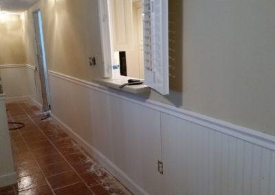 25 Hallway repairs