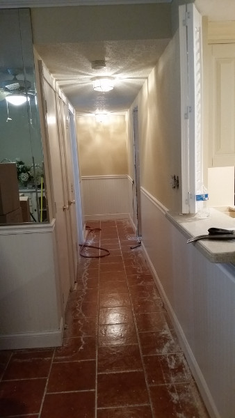 26 Hallway repairs