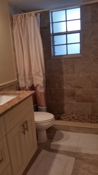 45 bathroom finished