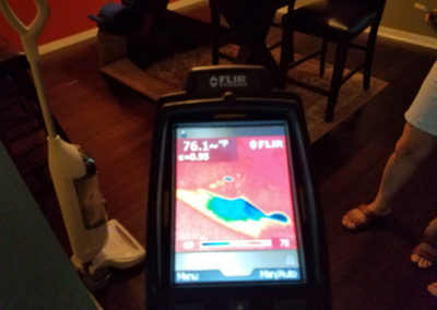 5 Infarred detects moisture in flooring