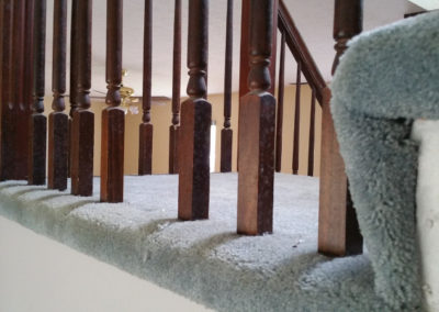 6 Staircase - mold growth