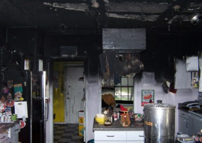 4 Kitchen damage (heavy soot)